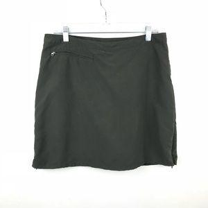 •Patagonia Skirt Shorts Skorts Hiking Army Green